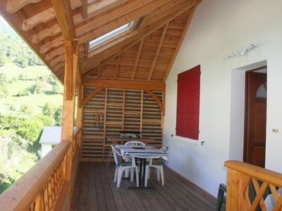 Photo for Very nice duplex with magnificent mountain view - Village center - 6 people
