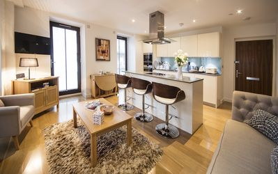 Photo for Chic Air Conditioned Two bed Two Bath Apartment moments from Westminster Abbey