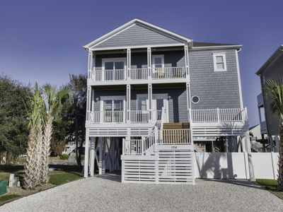 Photo for Sleeps 14! Private pool, elevator, private DOCK! Dock Holiday made for families!