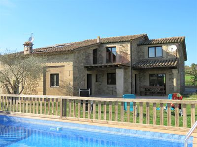 Photo for Costa Brava Apartment Casa Keller with private pool