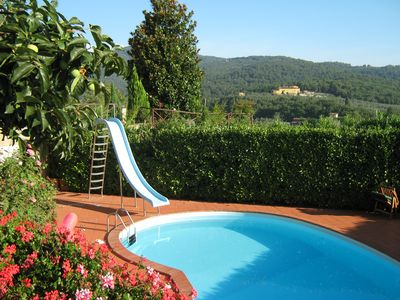 Photo for Poggerina luxury private villa with stunning view and private pool