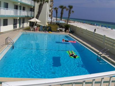 Photo for Aqua Villa 105 - Ground Floor and Pet Friendly.: 2  BR, 2  BA Condominium in Fort Walton Beach, Sleeps 6