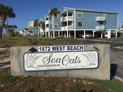 Welcome to Sea Oats! Over 8 acres with 2 Olympic size pools. Family friendly