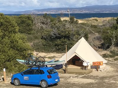 Photo for Glamping Tent Pachamama Sand