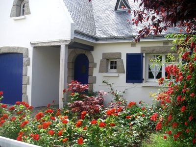 Photo for holiday home in historic village, very close to the sea