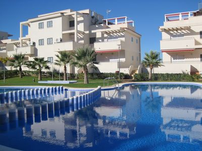 Photo for Luxury 3 Bed ground floor Apartment In Alcossebre - 25 minutes Castellon airport
