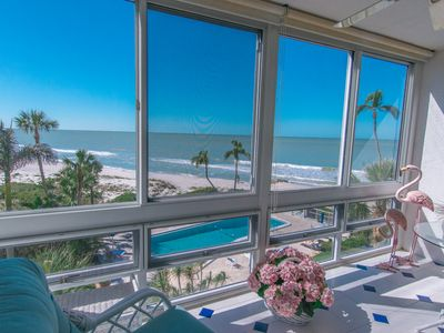 Photo for Lovely Beachfront Condo in the heart of Olde Naples!
