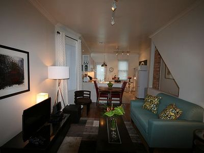 Photo for Beautifully Furnished 2 Level Riverdale Greektown House Near The Trendy Danforth