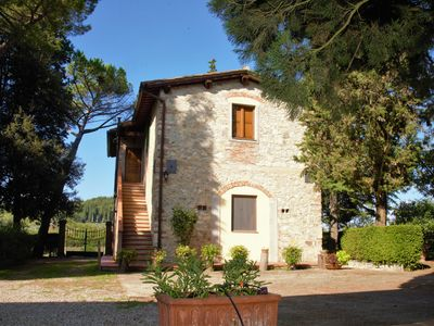 Photo for house / villa with view and exclusive garden in the countryside near Florence