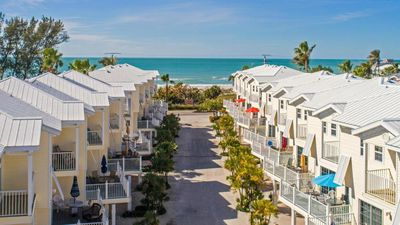 Photo for Updated 3 Bedroom Townhome, Steps to the Beach with Views from the Balcony