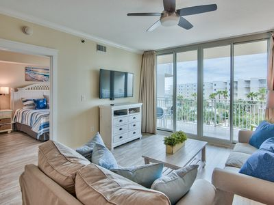 Photo for Waterscape 5th Flr  A side 1-bedroom -on the beach- NEW
