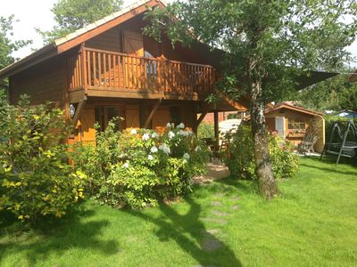 Photo for Basin of Arcachon cottage in leisure park with pool and waterslide