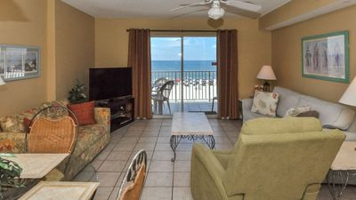 Photo for Beach Front Balcony! **2 Bedroom** Four Winds Condo *FREE Nights!