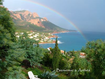 """Photo for """"ANTHEA"""" MAGNIFICENT SEA VIEW-CLIM-WIFI"""
