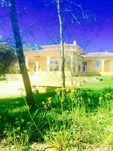 Photo for Stunning Mediterranean Villa with Waterfall Swimming pool a large garden.