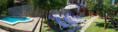 Photo for 2 bedroom Villa, sleeps 4 in Nerano with Pool and Air Con