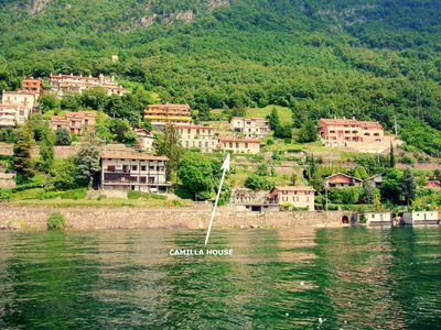 Photo for Apartment - 2 rooms - 2/6 persons -The best as per Rick Steve's Book-parking and besides garage in the center of varenna
