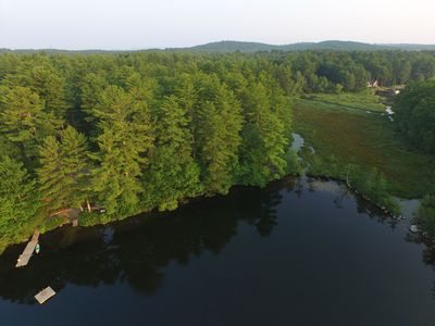 15 private acres are yours to explore. Several trails meander thru the forest.