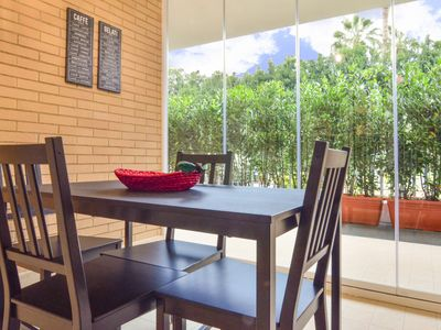 Photo for La Casa di Eva is a lovely two-room apartment located in a residential area