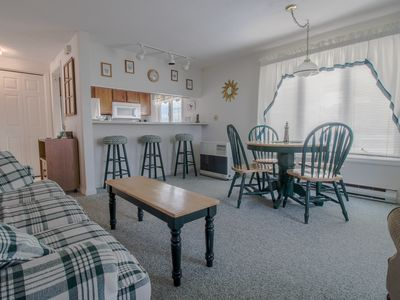 Photo for Charming condo w/ shared balcony - steps from the beach, close to pier & golf!