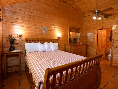 Photo for Restful lodge with frio springs views and tranquil settings