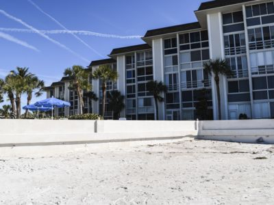 Photo for ON THE BEACH! 2bed/2bath Condo GULFVIEW, 2nd floor, on southern end!