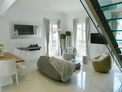 Photo for SUBLIME PENTHOUSE IN DUPLEX RUE HOCHE IN CANNES