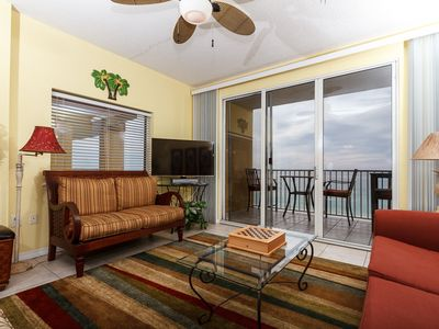 Photo for Gulf Dunes 611: Incredible top floor corner unit ! WIFI, FREE BEACH SERVICE