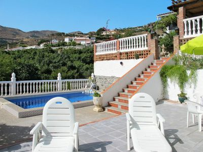 Photo for 2 bedroom Villa, sleeps 3 with Pool, WiFi and Walk to Beach & Shops