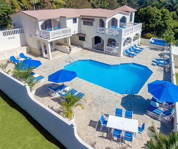 Photo for Affordable Luxury at 6 BR Fully Staffed Caribbean Vacation Villa