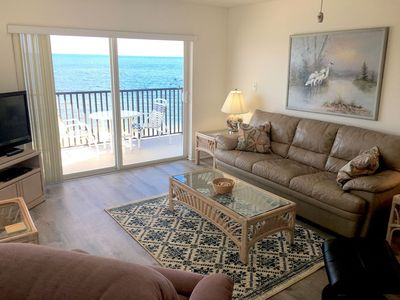 Photo for WOW View! Beautiful Beach Front Condo! Large Kitchen