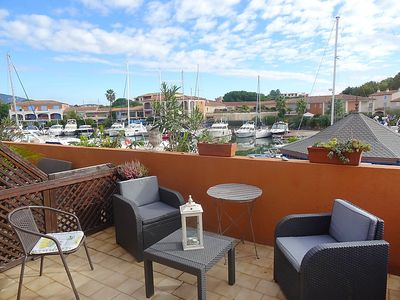 Photo for Apartment Le Phare I  in Port Cogolin, Cote d'Azur - 4 persons, 1 bedroom