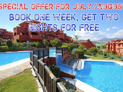 Photo for LUXURY APARTMENT: SPECIAL OFFER - ONE WEEK BOOKING - 2 NIGHTS FREE (JUL/AUG '20)