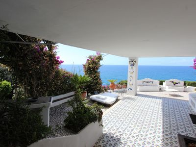 Photo for Great view and private access to the sea
