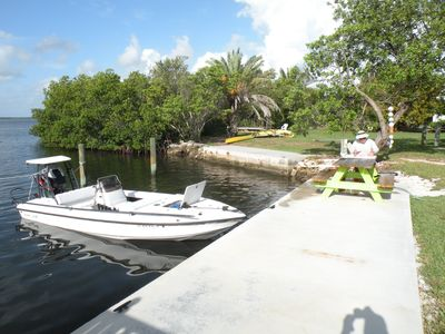 Photo for Cottage with swimming pool and dockage, just minutes to Key West!