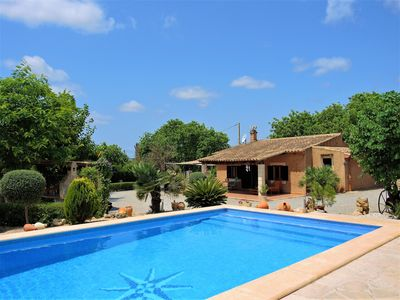 Photo for Ca'n Jeroni - House with large pool in Sant Llorenç des Cardassar, Mallorca