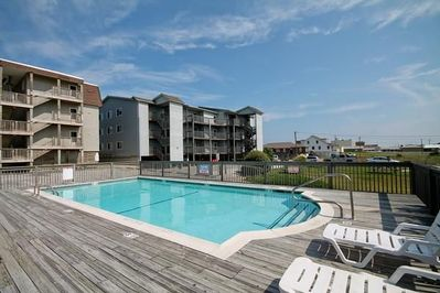 Pool Area at Regency Condominiums
