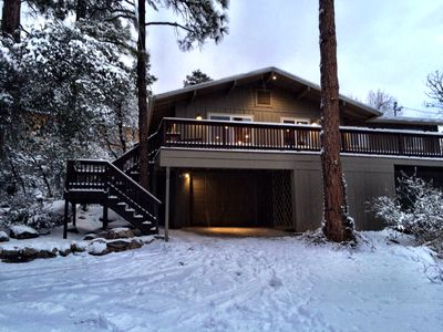 Photo for Remodeled Cabin in the woods just minutes from charming downtown Prescott