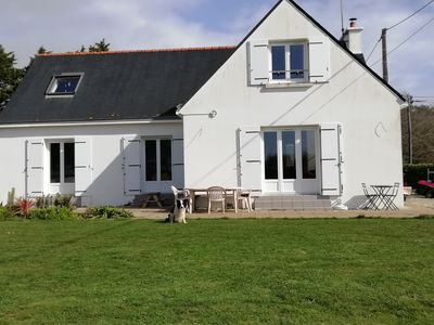 Photo for House with sea view in Trévignon