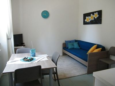 Photo for NEW TWO-ROOM APARTMENT WATER 4 PAX, BUS A FEW STEPS, FREE WIFI WITH A / C-ATF RESIDEN