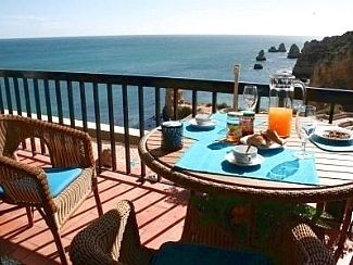 Your breakfast view of the sea