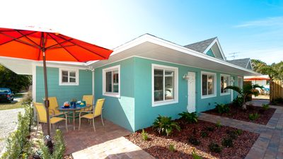 Photo for St. Thomas Bungalow - Walk in 2 Minutes to the Beach, Quiet Area, Free WiFi