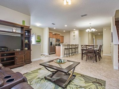 Photo for CLOSE TO DISNEY, GATED RESORT COMMUNITY, CLOSE TO CLUBHOUSE, PRIVATE SPLASH POOL!!