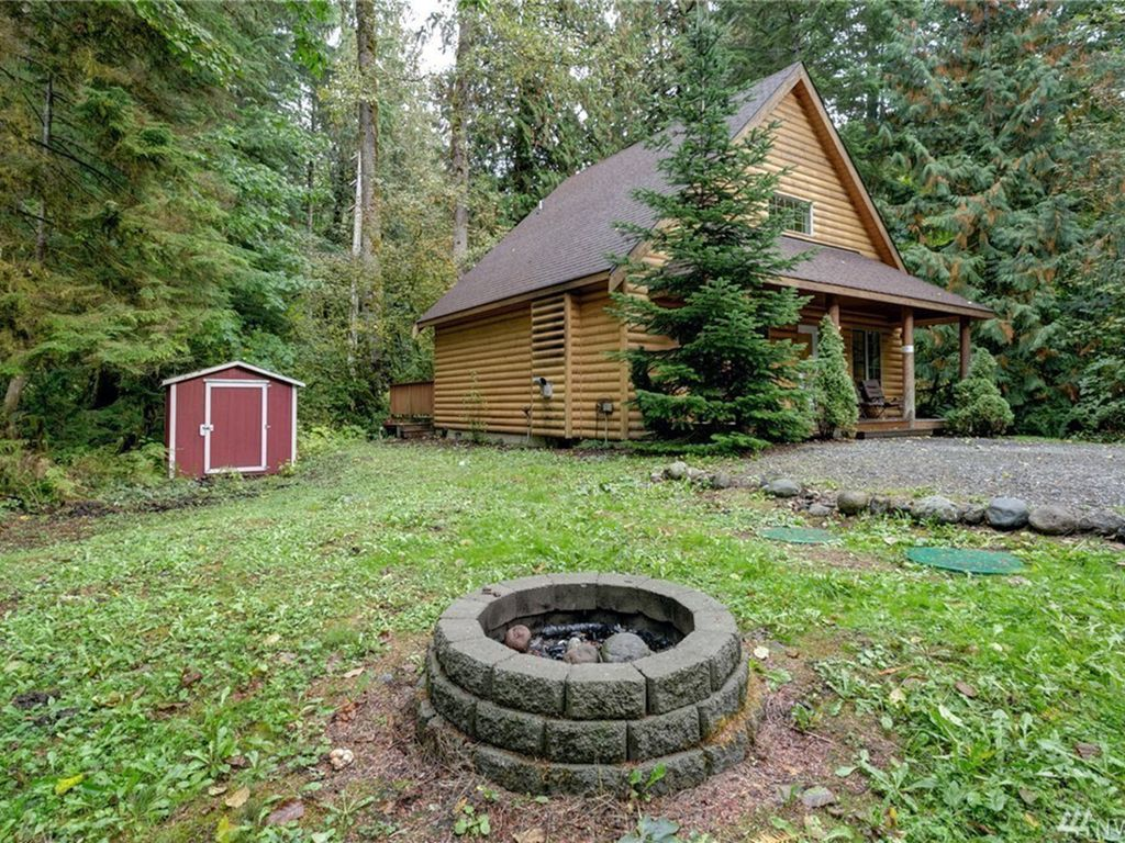 Mt Baker Log Cabin With Hot Tub Roku Amp Wifi In Glacier