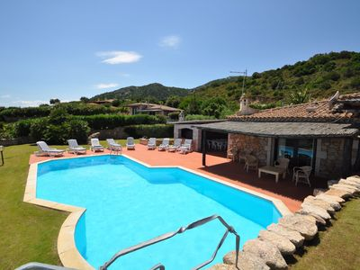 Photo for Private villa with sea views and pool