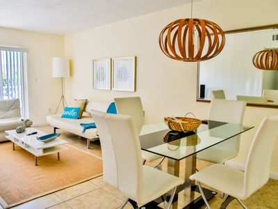 Photo for FANTASTIC 2BR/2BA IN KEY BISCAYNE, STEPS TO THE BEACH, POOL, PARKING, KITCHEN
