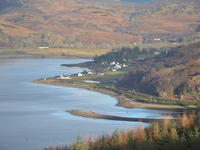 Photo for Glenelg, pet friendly spacious house with fantastic views across the bay to Skye