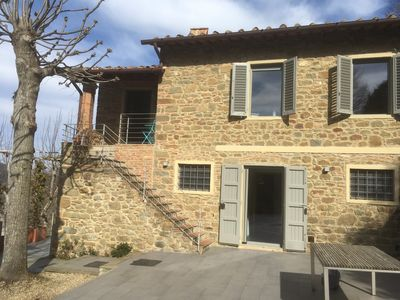 Photo for Typical Tuscan farmhouse in charming position between Panzano -Greve in Chianti