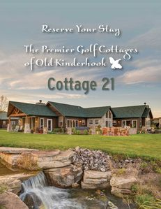 Cottage 21 is on the left half of this structure
