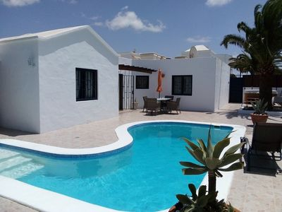Photo for Villa in Los Mojones, Puerto Del Carmen, Total Privacy, Pool & Hot Tub, near beach